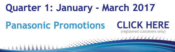 Panasonic Promotions January - March 2017