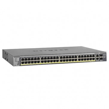 Netgear 48 Port 10/100 PoE Switch with 2 Gigabit and 2 SFP Combo Ports