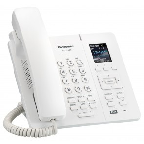 Panasonic Single Cell DECT Wireless Desk Phone (White)