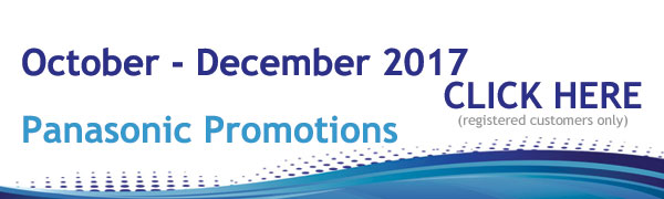 Panasonic Promotions October - December 2017