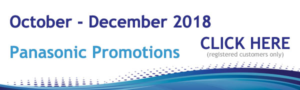 Panasonic Promotions October - December 2018